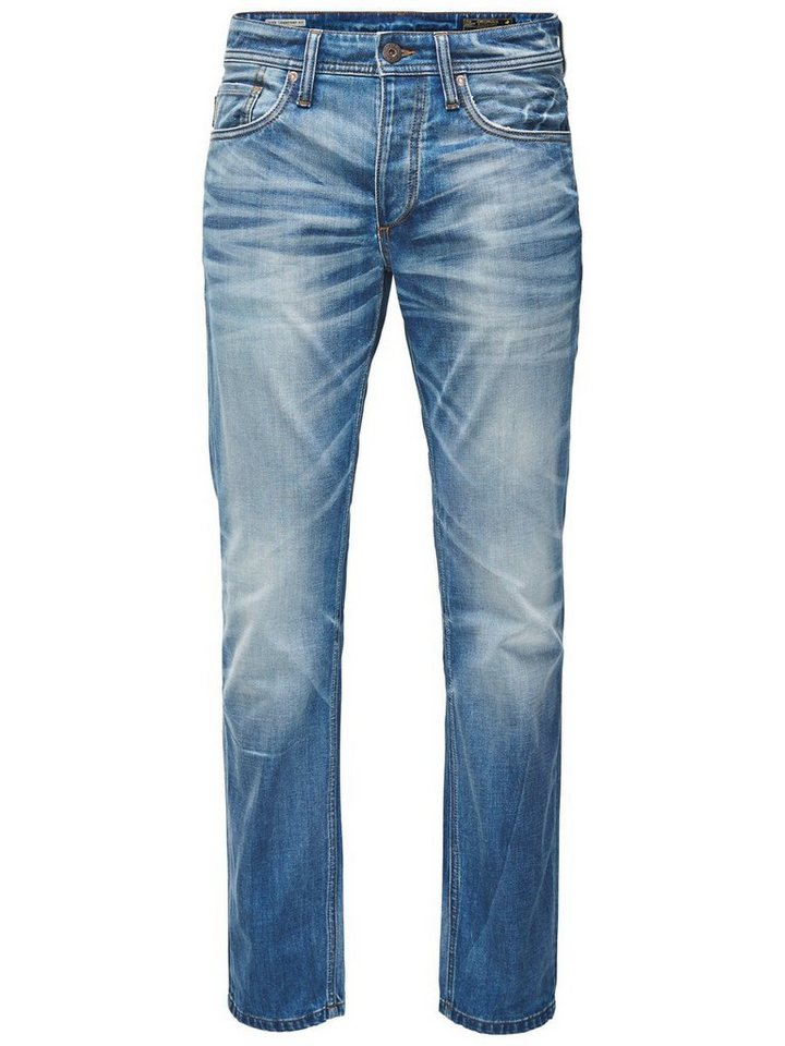 Jack & Jones Mike Original GE 202 Comfort Fit Jeans in Blue Denim