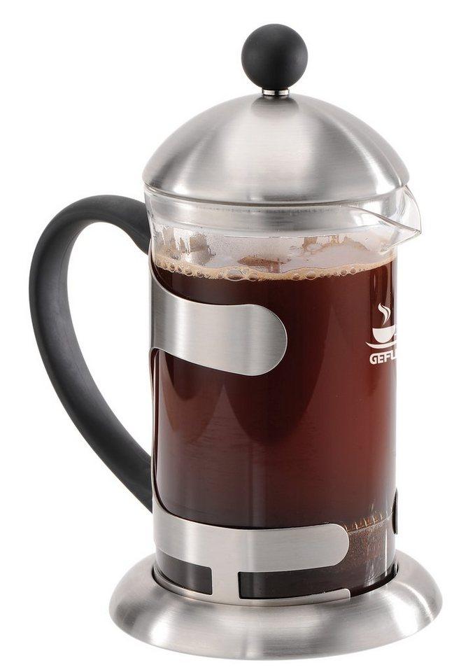 GEFU Kaffeezubereiter, »PABLO« in transparent, edelstahl, schwarz