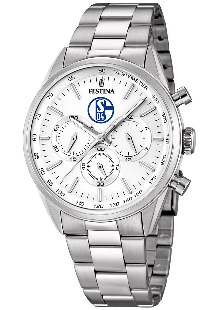 Festina Chronograph »Sonderedition FC Schalke 04, F16820/P«