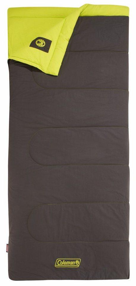 COLEMAN Schlafsack »Heaton Peak Comfort 220 Schlafsack« in braun