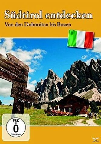 DVD »Südtirol entdecken - Von den Dolomiten bis Bozen«