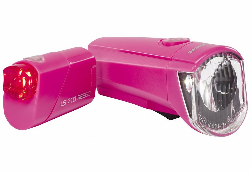 Trelock Fahrradbeleuchtung »LS350 I-go Sport + LS710 Reego Beleuchtungsset«