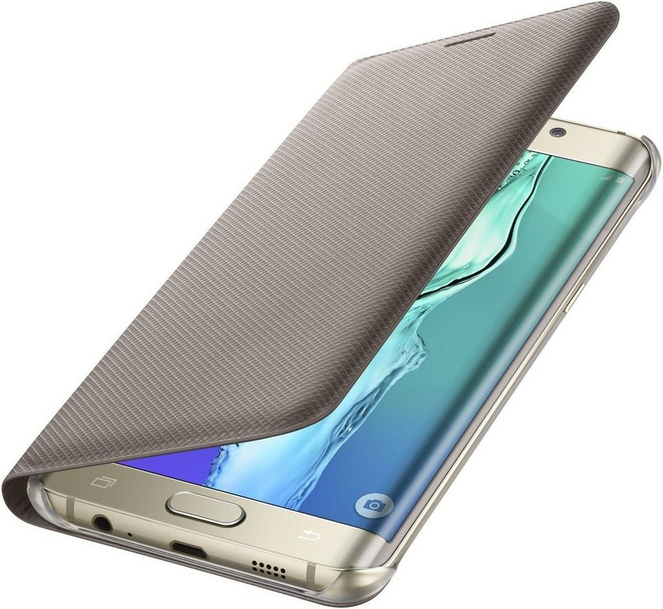 Samsung Handytasche »Flip Wallet für Galaxy S6 Edge+« in Gold