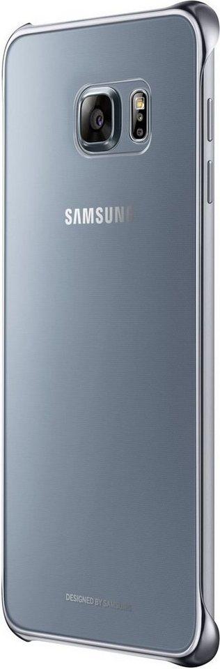 Samsung Handytasche »Clear Cover für Galaxy S6 Edge+« in Silber