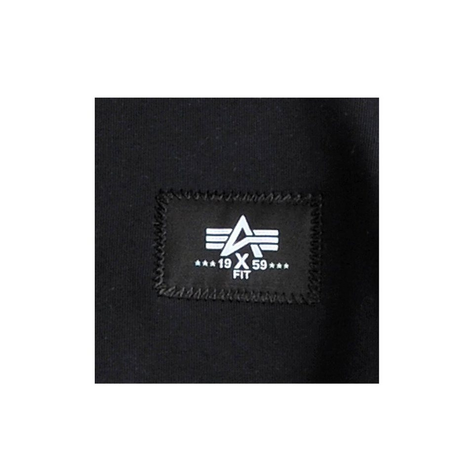 ALPHA INDUSTRIES Sweat »X-Fit Basic Short« in black