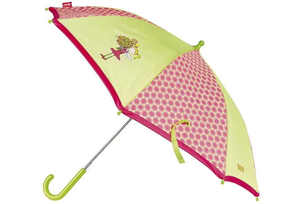 sigikid® Kinderregenschirm, »Florentine« in grün/rosa