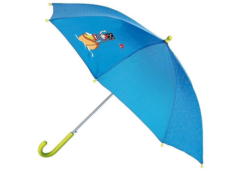 sigikid®, Kinderregenschirm, »Sammy Samoa« in blau