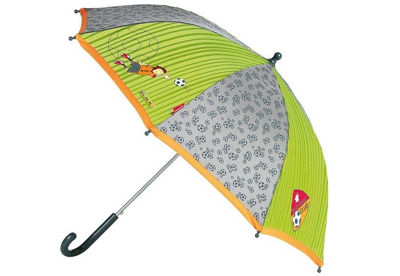 Sigikid Kinderregenschirm, »Kily Keeper« in grün/grau