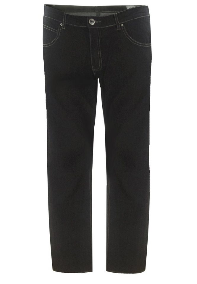 greyes Jeans Stretch in Blue Used Wash