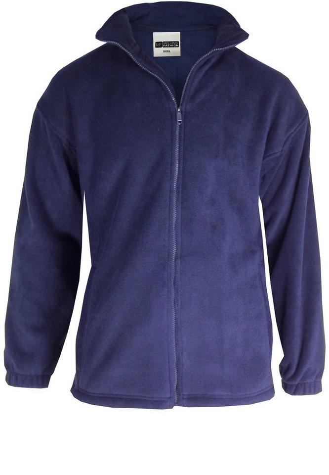 melvinsi fashion Fleecejacke »Fleecejacke« in Marineblau