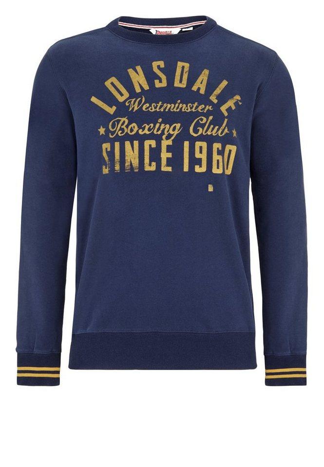 Lonsdale Sweatshirt in Dark Navy