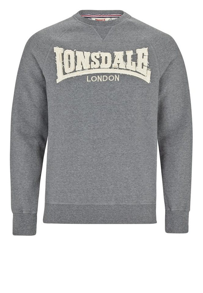 Lonsdale Sweatshirt in Anthracite
