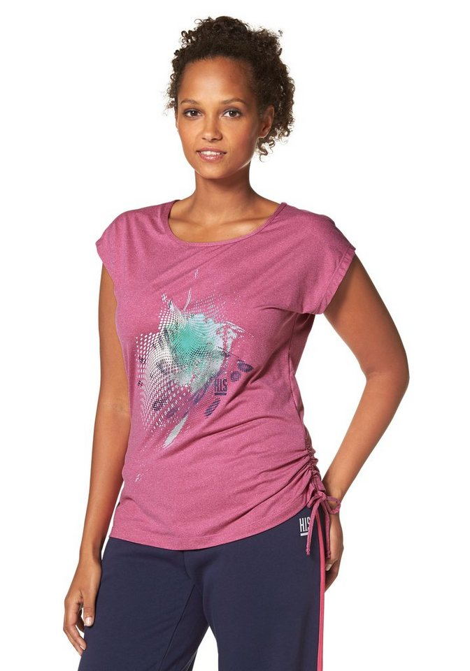 H.I.S Funktions-T-Shirt in Pink