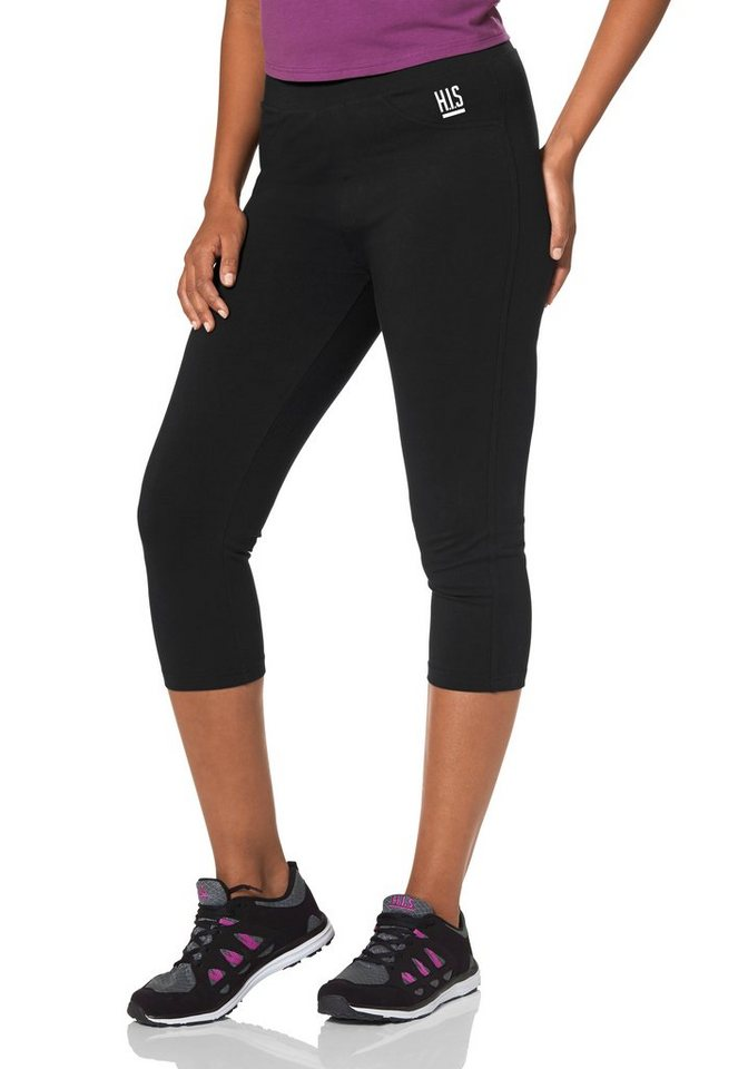 H.I.S 3/4-Funktions-Tights in Schwarz