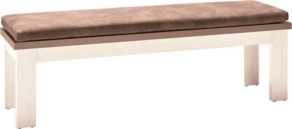 set one by Musterring Sitzbank »york« Typ 61, Pino Aurelio, Breite 160 cm in Pino Aurelio