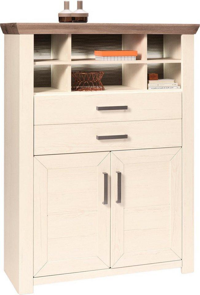 set one by musterring highboard york typ 16 pino aurelio breite 105 cm online kaufen otto. Black Bedroom Furniture Sets. Home Design Ideas