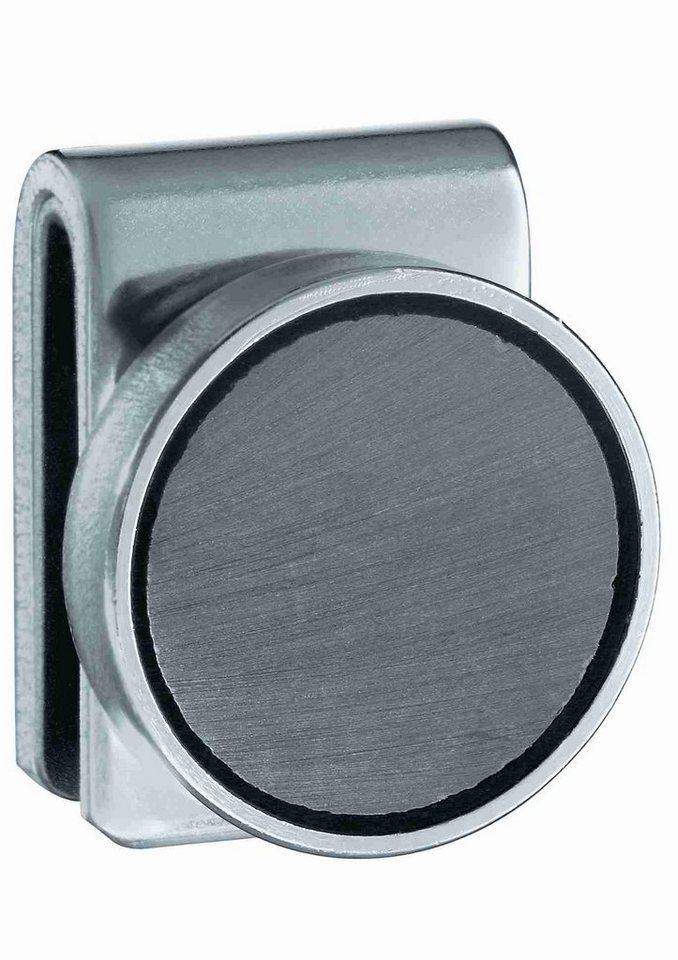 RÖSLE Magnethalter in silberfarben