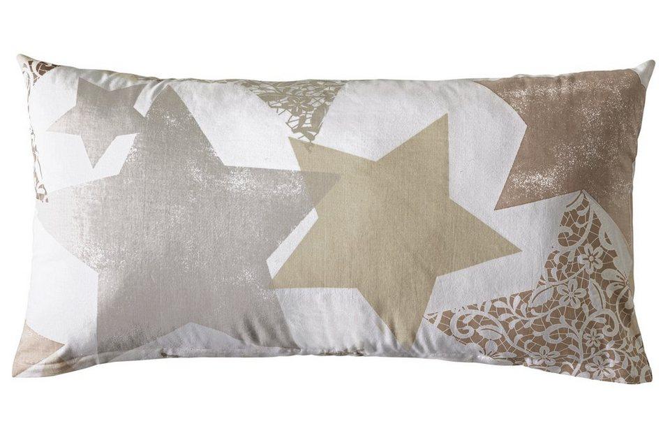 heine home Designer-Bettwäsche in beige