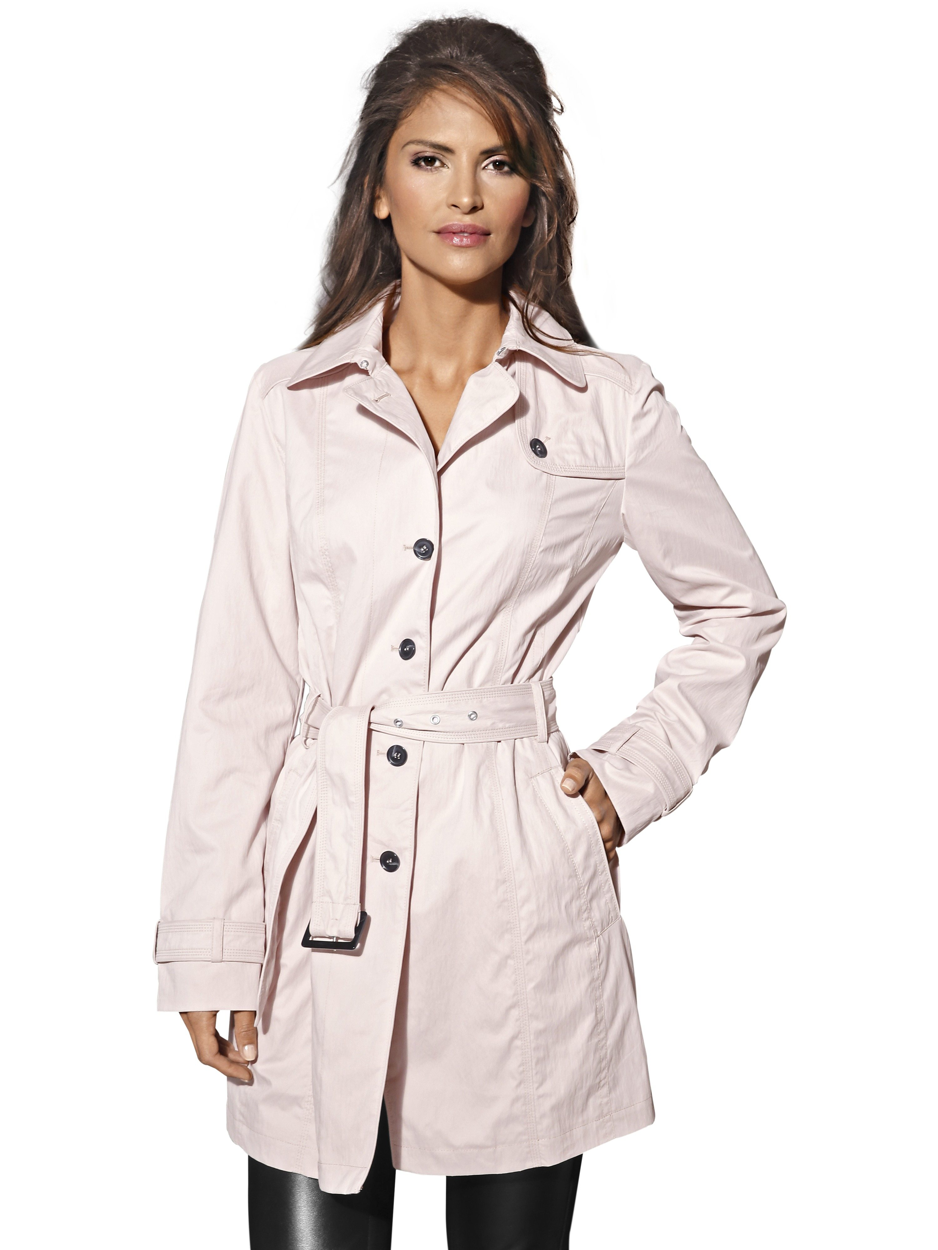ASHLEY BROOKE by Heine Trenchcoat mit Gürtel | Bekleidung > Mäntel > Trenchcoats | Polyester | ASHLEY BROOKE by Heine