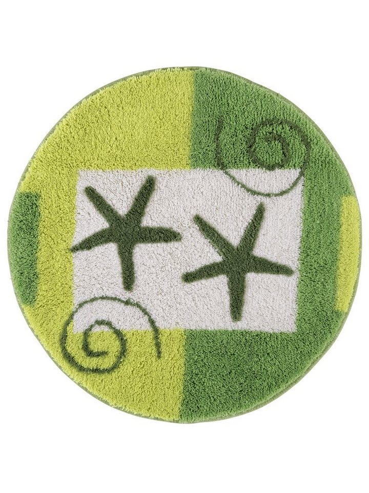 Badgarnitur in grün