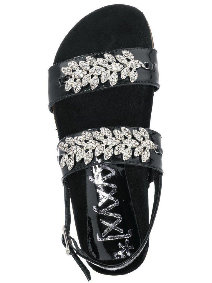 Sandalette von XYXYX in schwarz