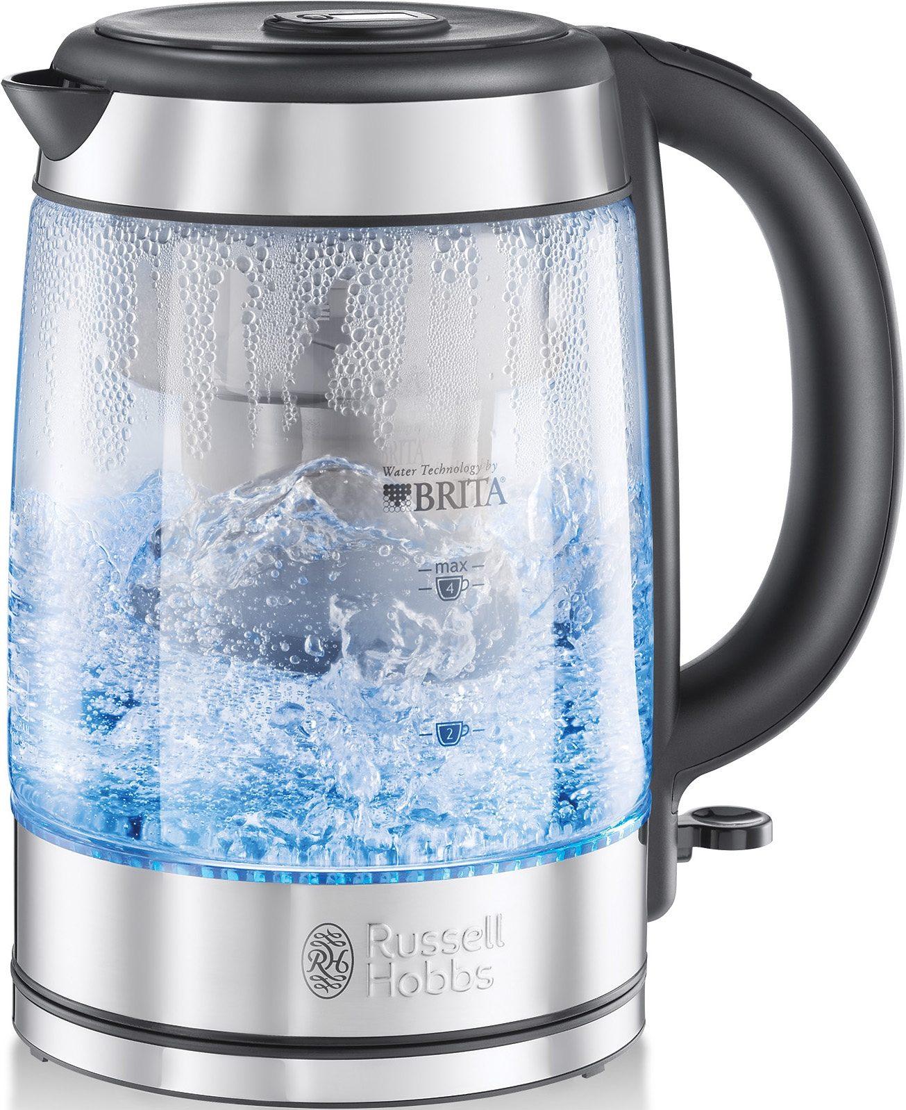 Russell Hobbs Glas-Wasserkocher Clarity, 1,5 Liter, 2200 Watt