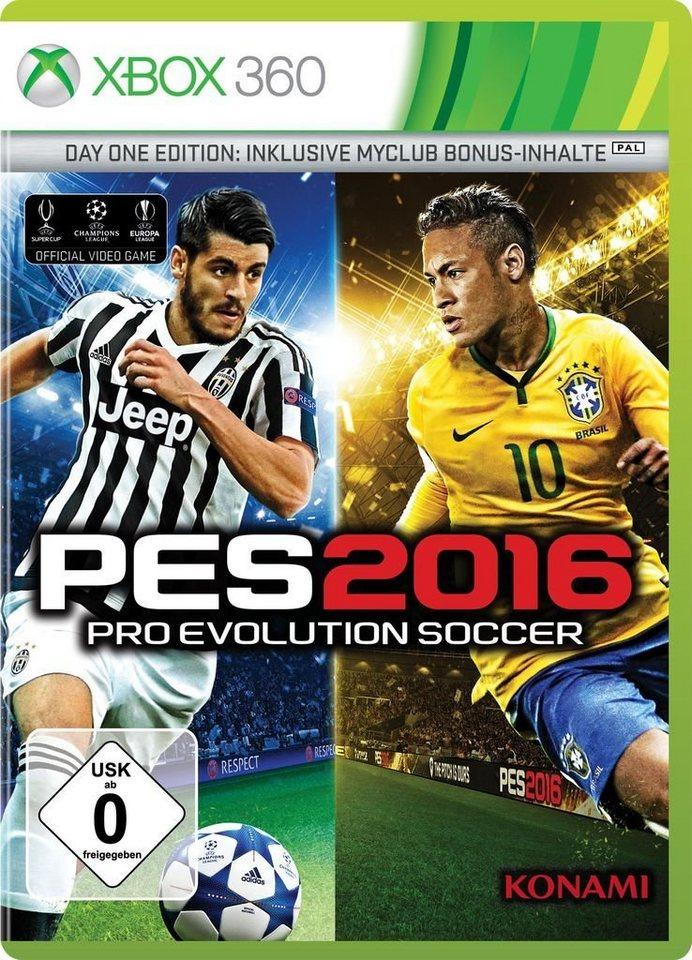 Konami XBOX 360 - Spiel »PES 2016 Day 1«