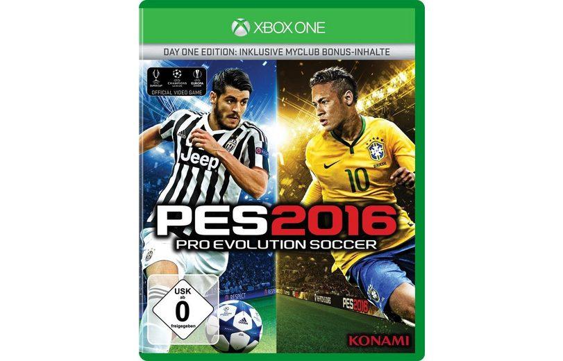 Konami XBOX One - Spiel »PES 2016 Day 1«