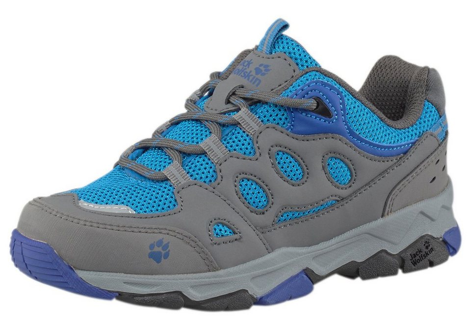 Jack Wolfskin »Mountain Attack 2 Low K« Outdoorschuh in anthrazit-blau