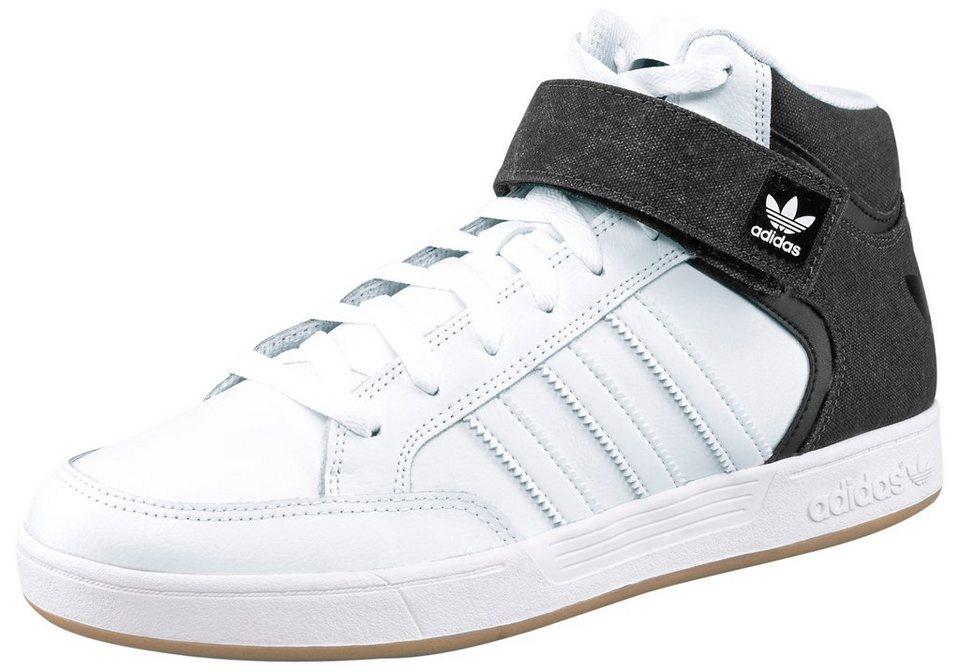 adidas Originals Varial Mid Sneaker in Weiß-Schwarz