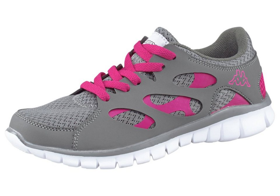 Kappa Fox Light Sneaker in Grau-Pink
