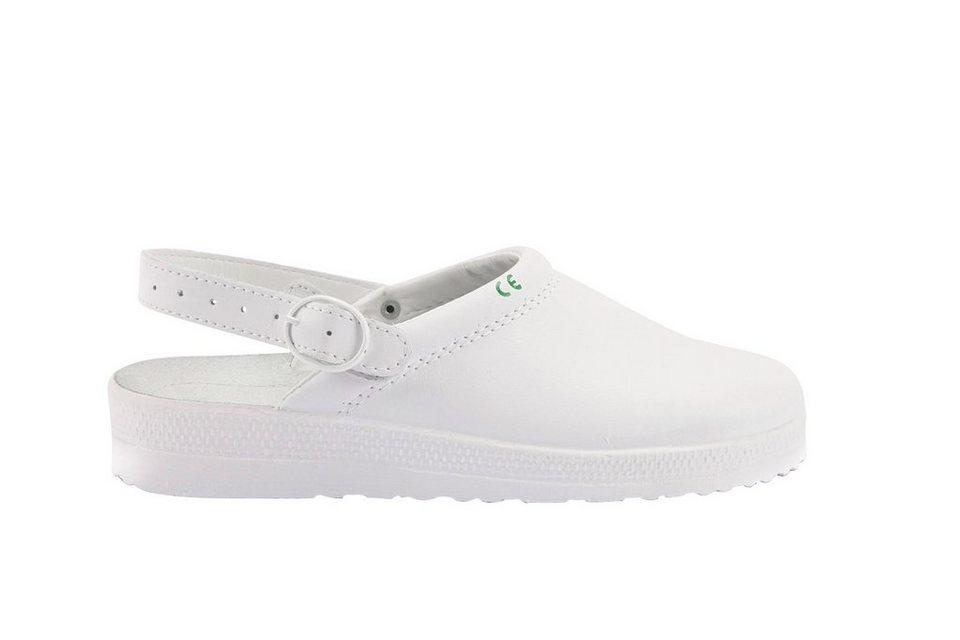 Clog in weiß