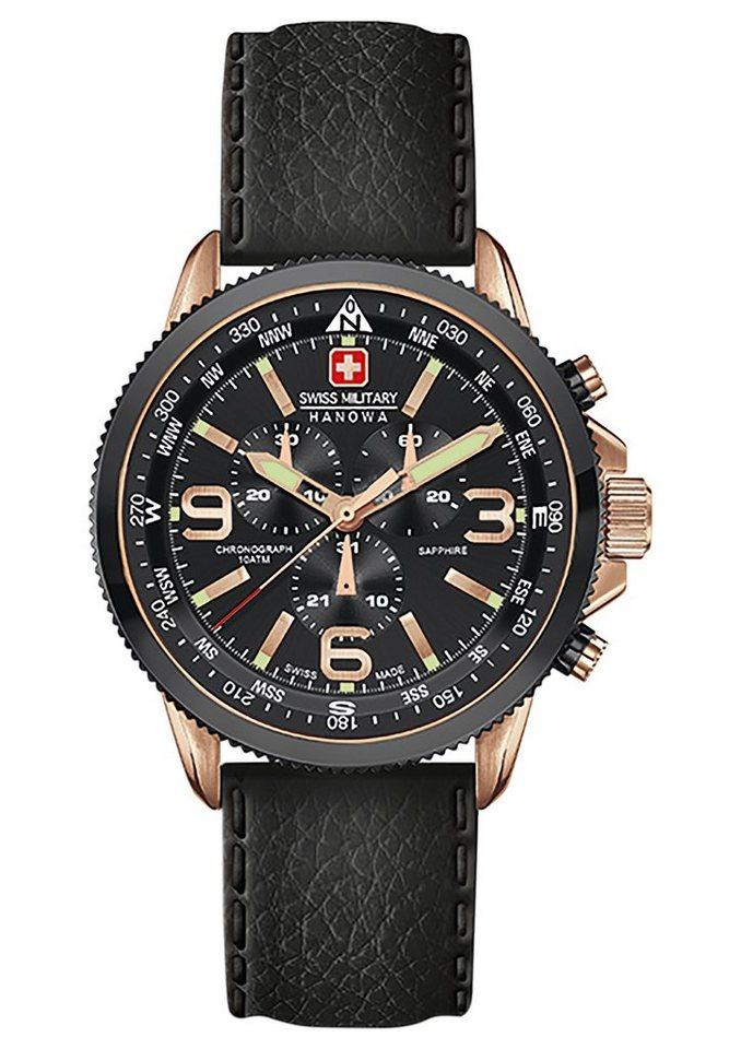"""Swiss Military Hanowa, Chronograph, """"ARROW CHRONO, 06-4224.09.007"""" in schwarz"""
