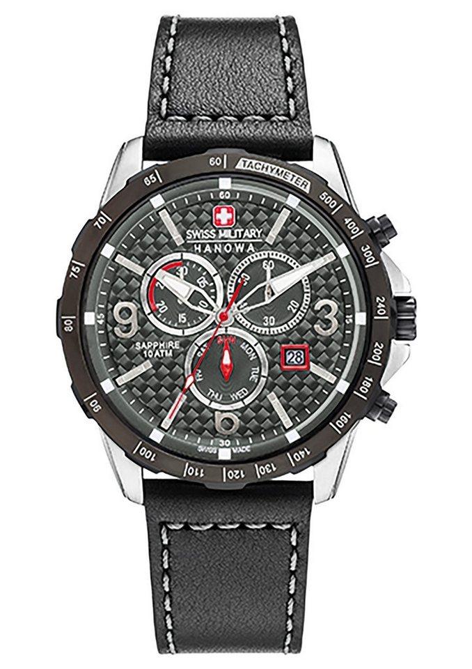 """Swiss Military Hanowa, Chronograph, """"ACE CHRONO, 06-4251.33.001"""" in schwarz"""