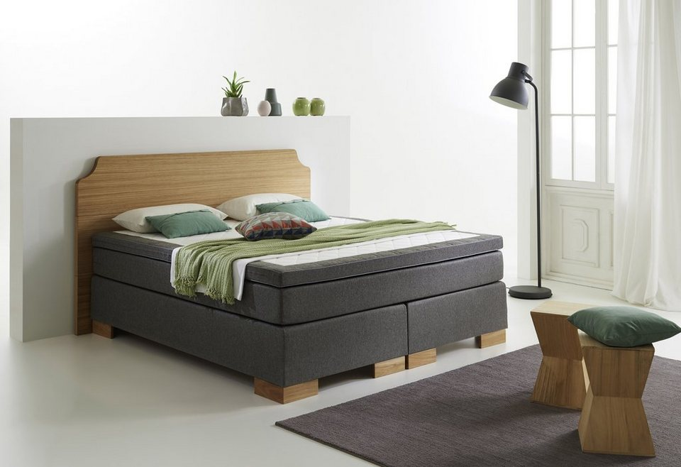 home affaire boxspring bett miomir online kaufen otto. Black Bedroom Furniture Sets. Home Design Ideas
