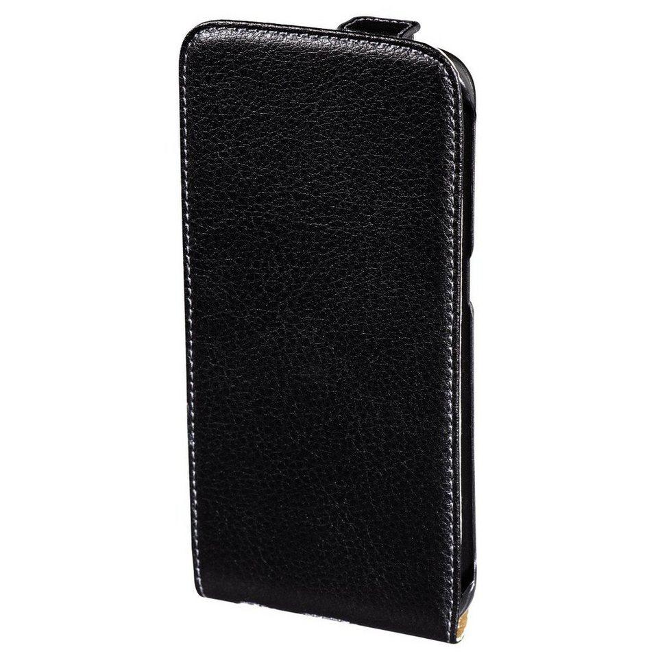 Hama Leder Hülle für Samsung Galaxy S6 edge+ Tasche Handytasche »Handy Schutzhülle Flip Case« in Schwarz