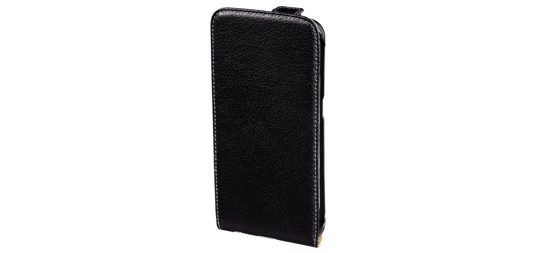 Hama Leder Hülle für Samsung Galaxy S6 edge+ Tasche Handytasche »Handy Schutzhülle Flip Case«