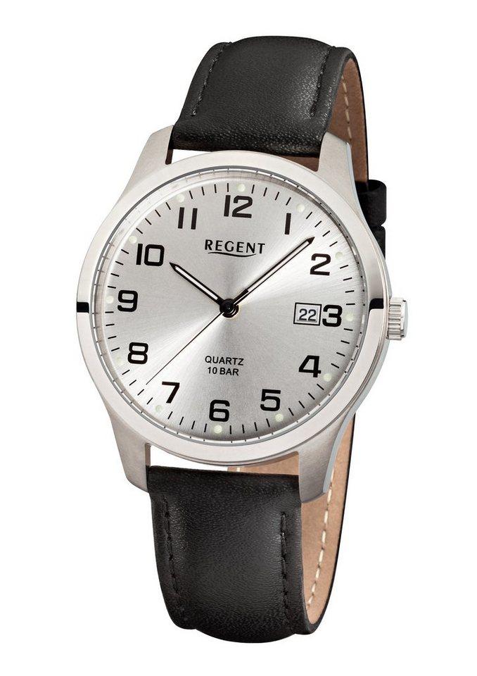 "Regent, Armbanduhr, ""F931, 11190161"" in schwarz"