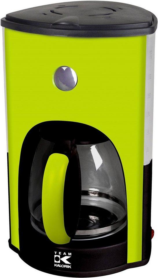 team kalorik design kaffeemaschine cm 1008 ag f r bis zu 15 tassen 1000 watt online kaufen otto. Black Bedroom Furniture Sets. Home Design Ideas
