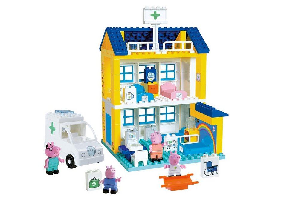 BIG Spielset Krankenhaus, »PlayBIG Bloxx Peppa Wutz Krankenhaus«