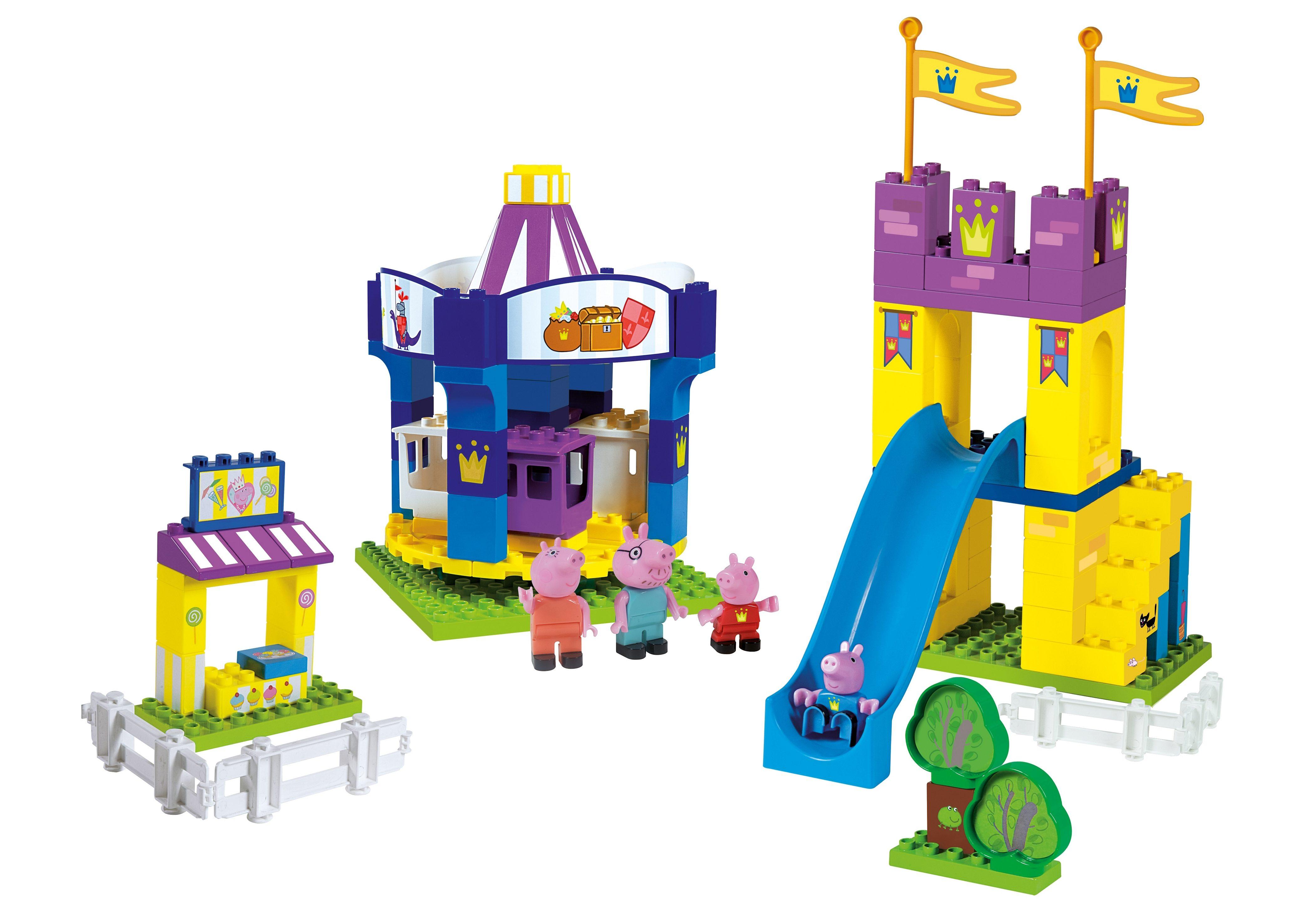 BIG Spielset Freizeitpark, »PlayBIG Bloxx Peppa Wutz Funpark«