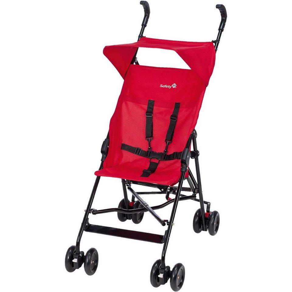 safety 1st buggy peps inkl sonnenverdeck plain red 2017 online kaufen otto. Black Bedroom Furniture Sets. Home Design Ideas