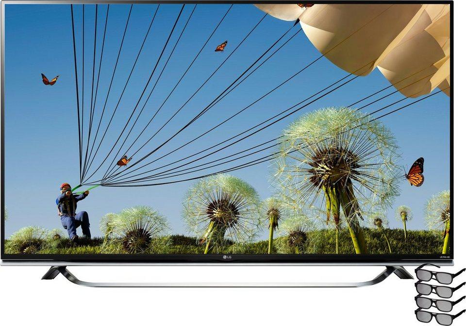 lg 60uf8509 led fernseher 151 cm 60 zoll 2160p 4k ultra hd smart tv online kaufen otto. Black Bedroom Furniture Sets. Home Design Ideas