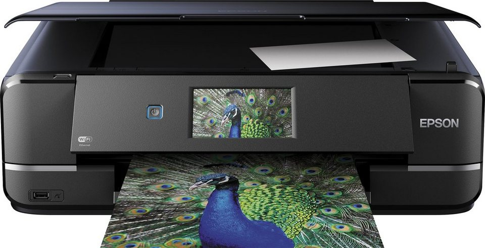 Epson Expression Photo XP 960 Multifunktionsdrucker in schwarz