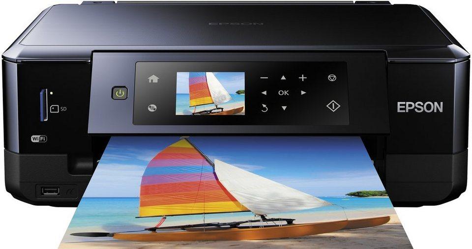 Epson Expression Premium XP-630 Multifunktionsdrucker in schwarz