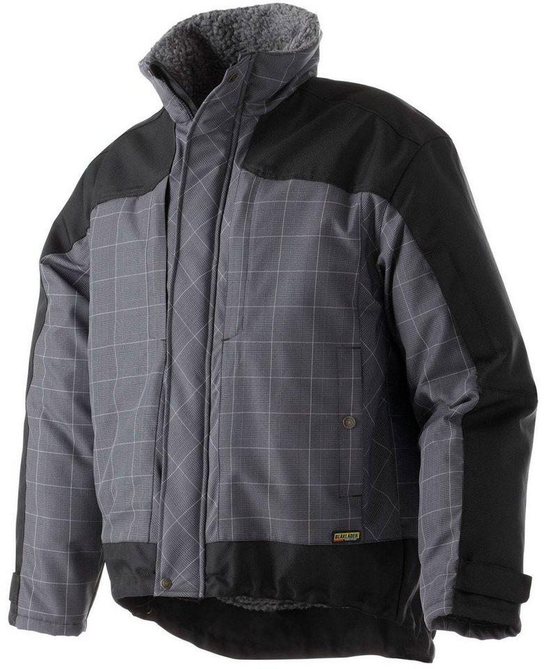 Jacke »4548« in grau/schwarz