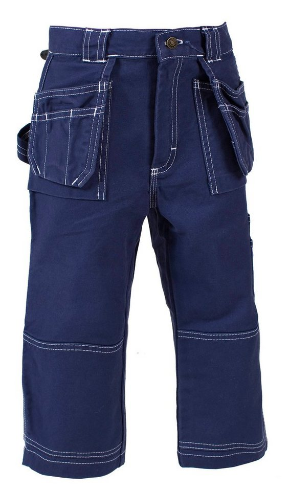 Kids Bundhose Piratenlook in blau
