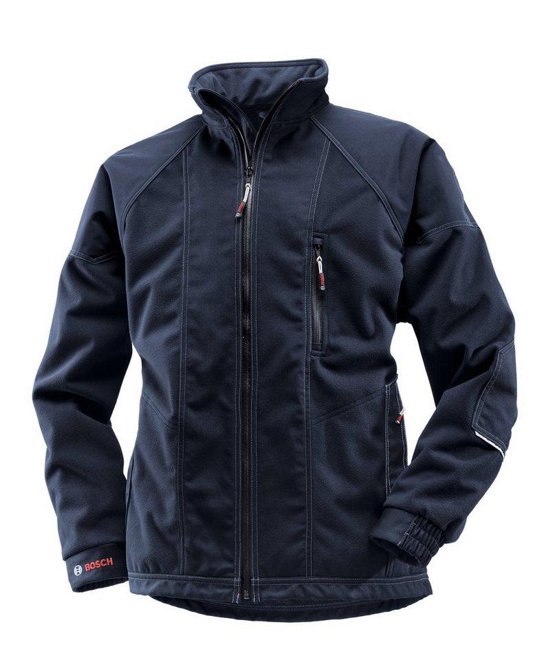 Windstopper-Jacke in blau