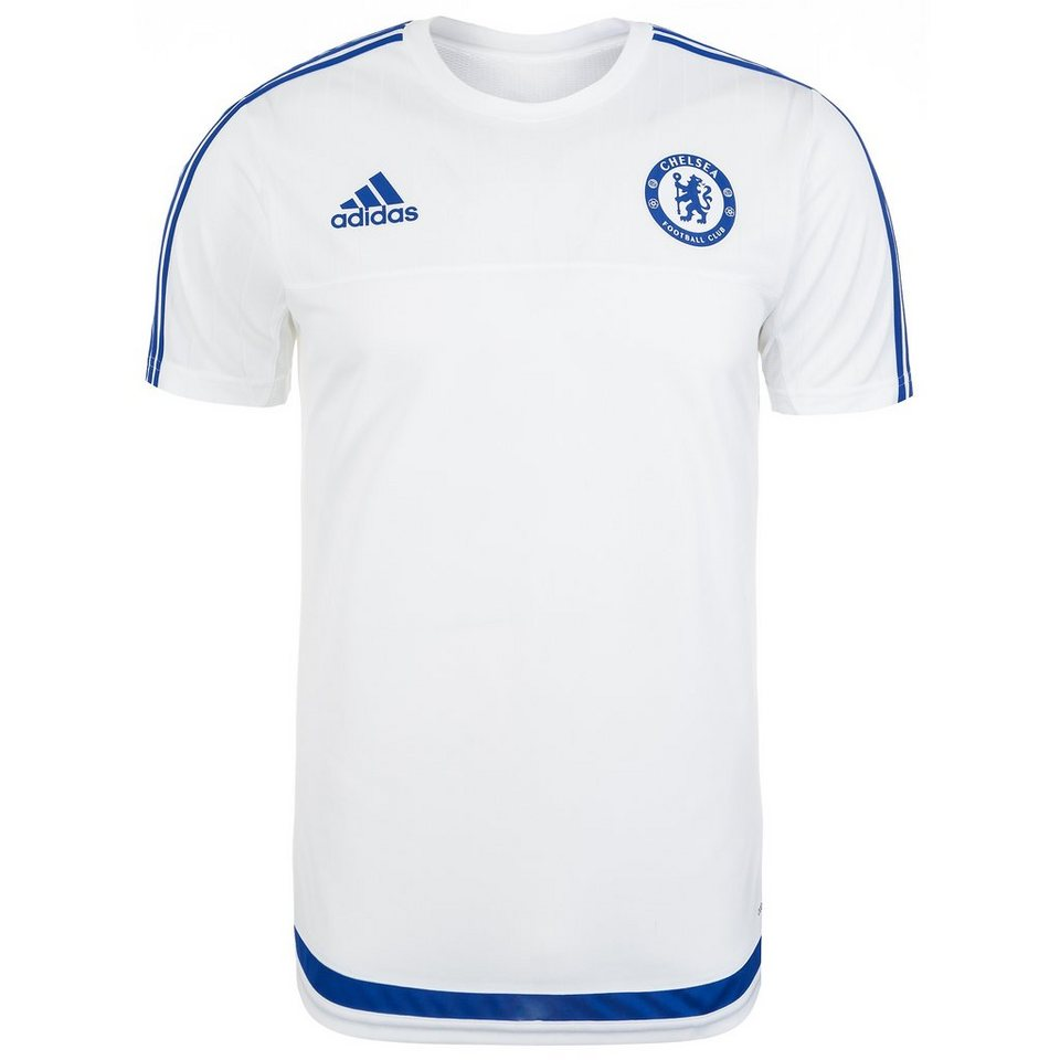 adidas Performance FC Chelsea Trainingsshirt Herren in weiß / blau