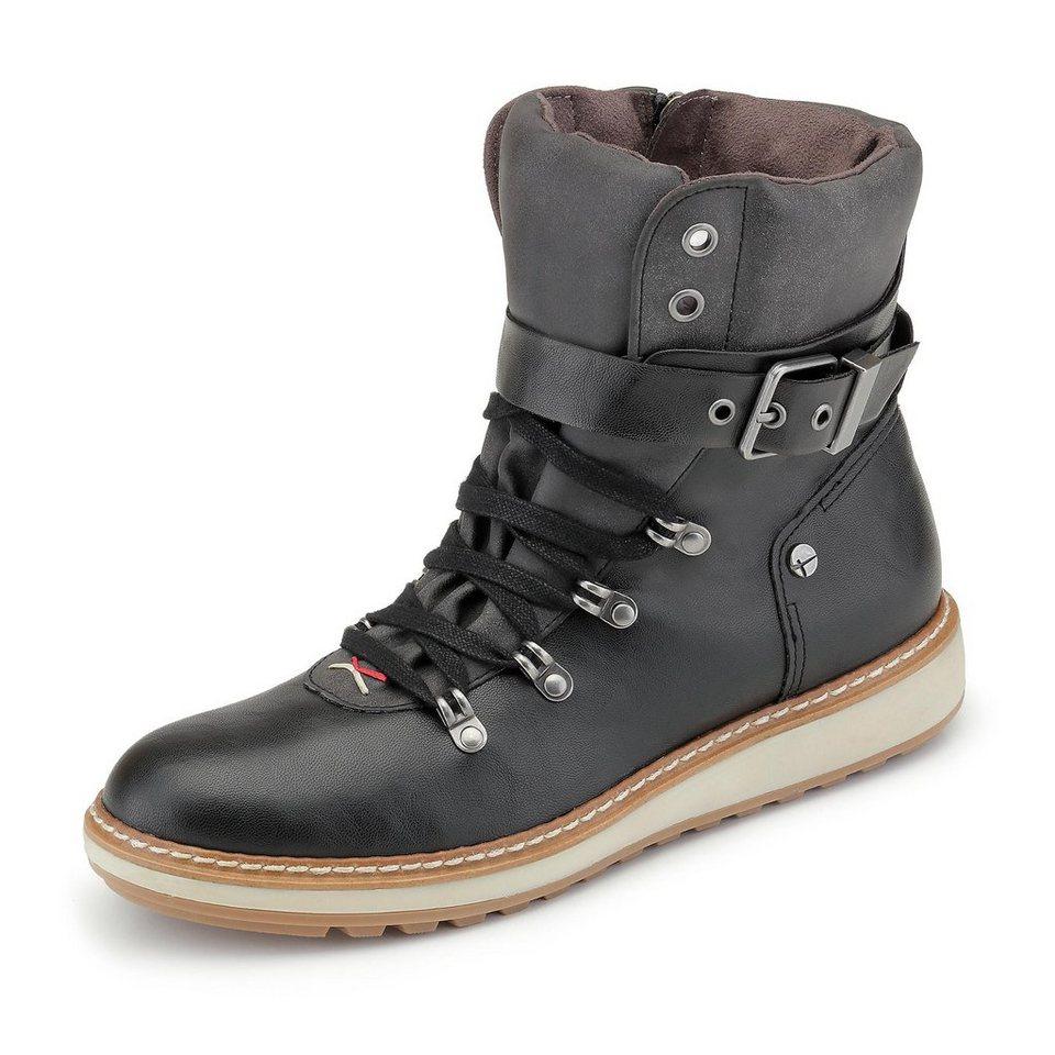 Tamaris Boots in schwarz